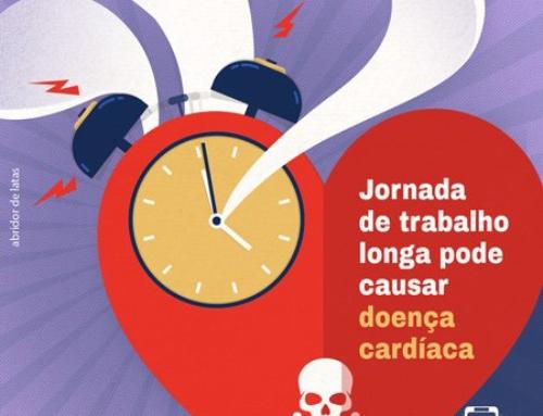 Jornada de trabalho longa pode causar doença cardíaca