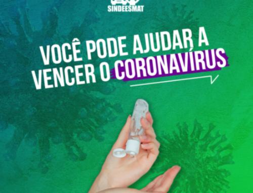 Você pode ajudar a vencer o coronavírus