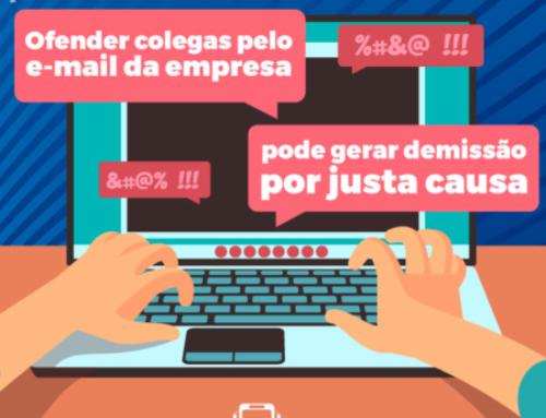 Ofender colegas pelo e-mail da empresa pode gerar demissão por justa causa