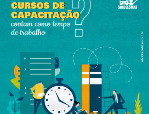 Horas dedicadas a cursos obrigatórios de capacitação contam como tempo de trabalho?