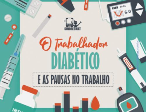 O trabalhador diabético e as pausas no trabalho