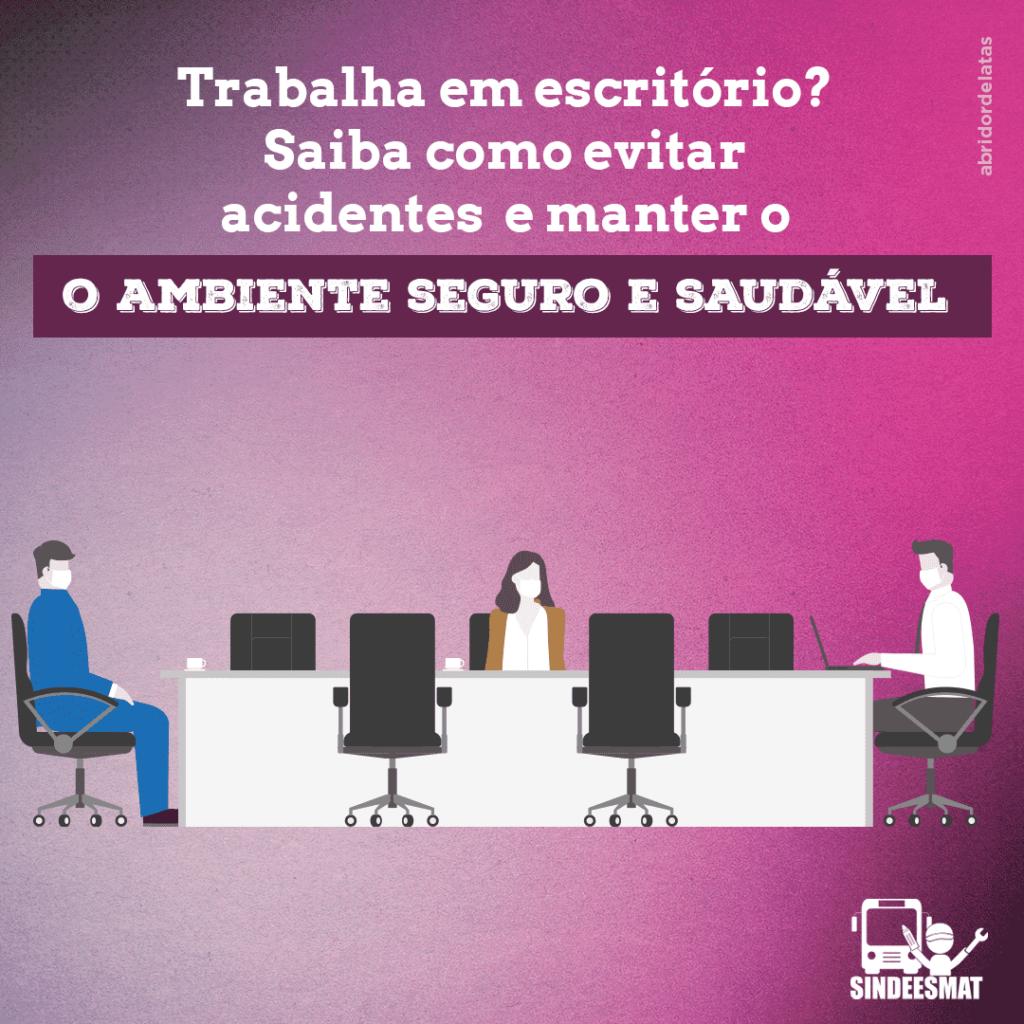 Trabalha em escritório? Saiba como evitar acidentes e manter o ambiente seguro e saudável