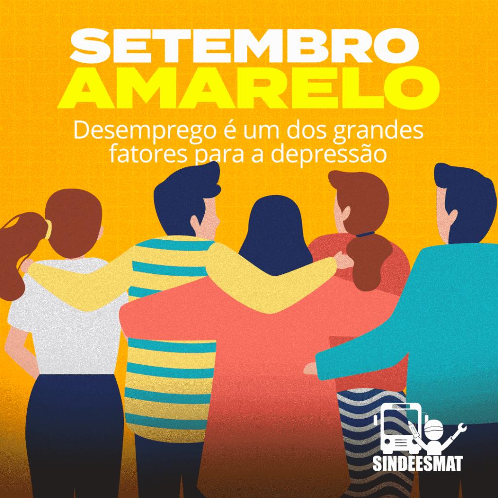 Setembro amarelo: Desemprego é um dos grandes fatores para a depressão